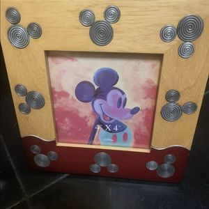Mickey Mouse Disney 4x4 picture frame